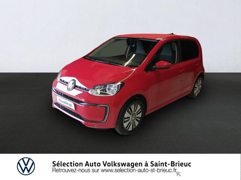 Volkswagen e-Up Electrique 83ch Rouge occasion à Saint Brieuc