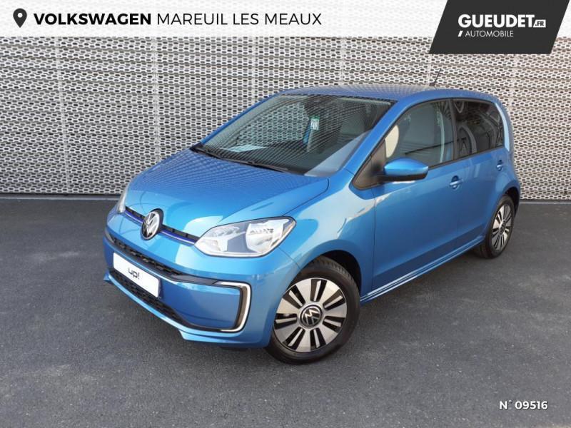 Volkswagen e-Up Electrique 83ch Bleu occasion à Mareuil-lès-Meaux