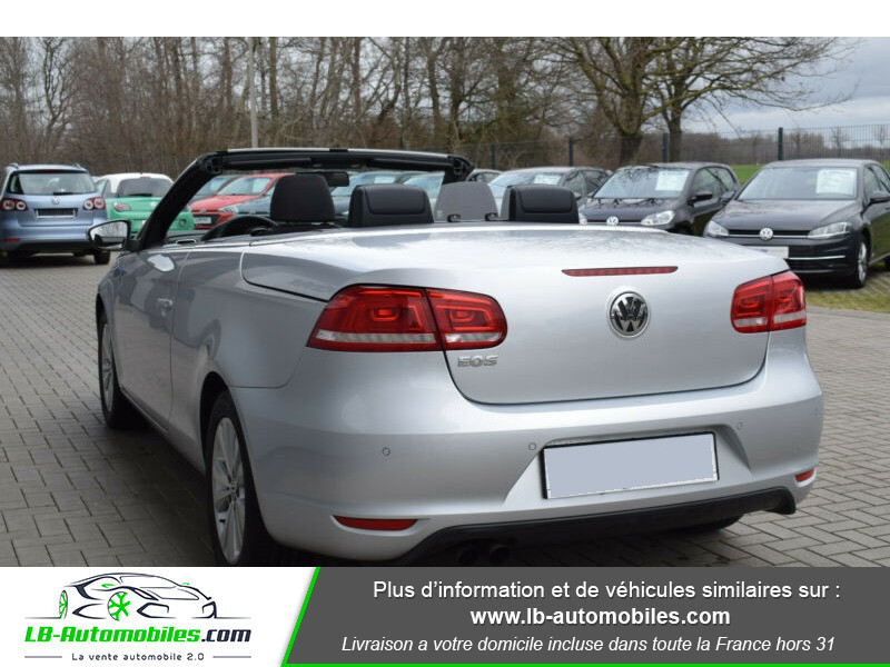 Volkswagen Eos 1.4 TSI 122 Argent occasion à Beaupuy - photo n°2