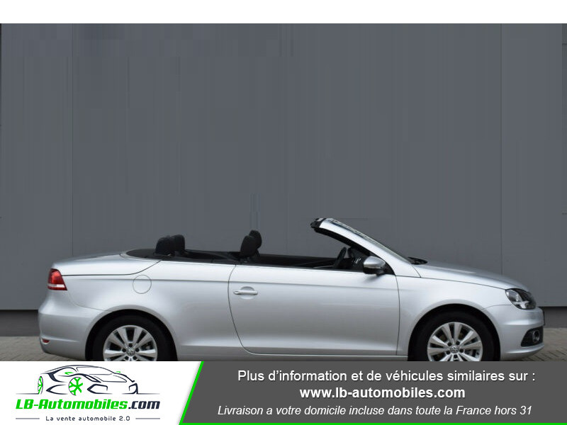 Volkswagen Eos 1.4 TSI 122 Argent occasion à Beaupuy - photo n°7