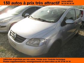 Volkswagen Fox Gris, garage VOITURE PAS CHERE RHONE ALPES à Saint-Bonnet-de-Mure