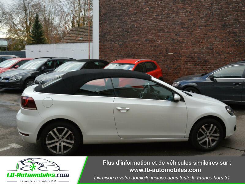 Volkswagen Golf Cabriolet 1.4 TSI 122 DSG Blanc occasion à Beaupuy - photo n°8