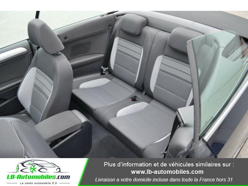 Volkswagen Golf Cabriolet 1.4 TSI 122 DSG Bleu occasion à Beaupuy - photo n°5