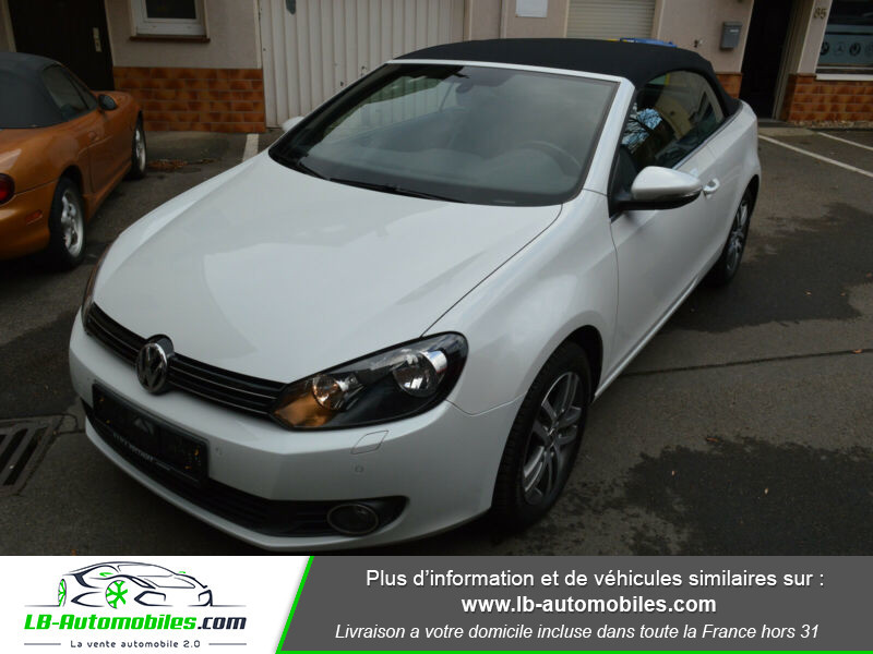 Volkswagen Golf Cabriolet 1.4 TSI 122 DSG Blanc occasion à Beaupuy