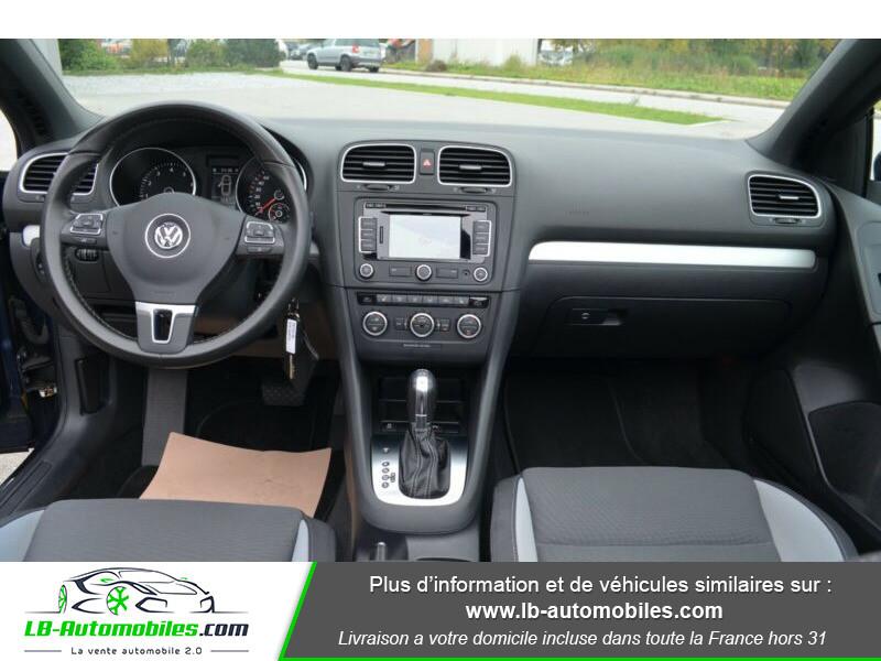 Volkswagen Golf Cabriolet 1.4 TSI 122 DSG Bleu occasion à Beaupuy - photo n°2