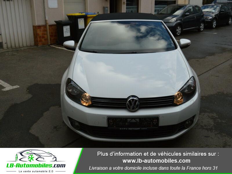 Volkswagen Golf Cabriolet 1.4 TSI 122 DSG Blanc occasion à Beaupuy - photo n°5
