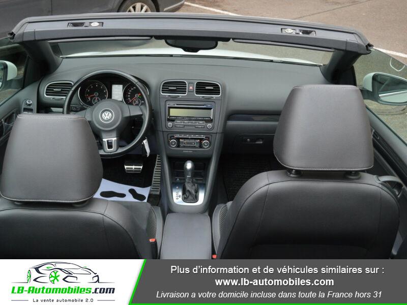 Volkswagen Golf Cabriolet 1.4 TSI 122 DSG Blanc occasion à Beaupuy - photo n°2