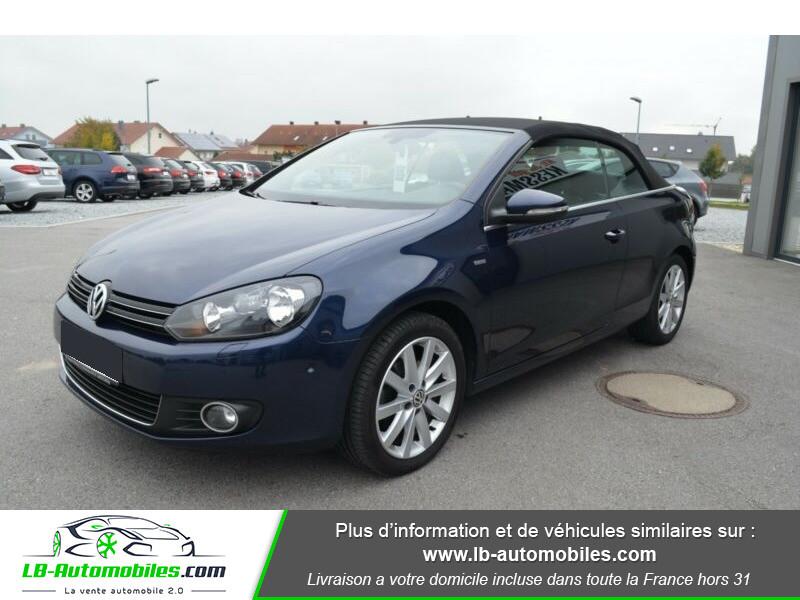 Volkswagen Golf Cabriolet 1.4 TSI 122 DSG Bleu occasion à Beaupuy