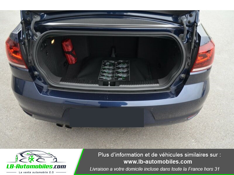 Volkswagen Golf Cabriolet 1.4 TSI 122 DSG Bleu occasion à Beaupuy - photo n°10