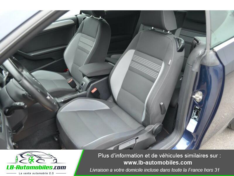 Volkswagen Golf Cabriolet 1.4 TSI 122 DSG Bleu occasion à Beaupuy - photo n°4
