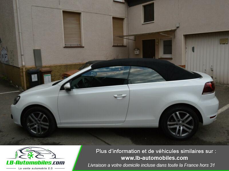 Volkswagen Golf Cabriolet 1.4 TSI 122 DSG Blanc occasion à Beaupuy - photo n°6