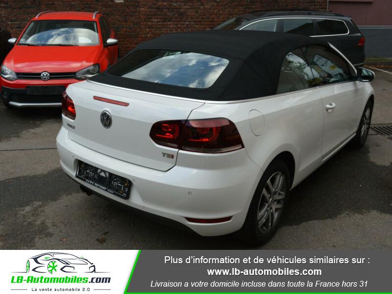 Volkswagen Golf Cabriolet 1.4 TSI 122 DSG Blanc occasion à Beaupuy - photo n°3