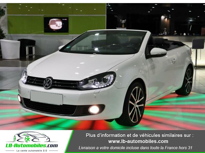 Volkswagen Golf Cabriolet 1.4 TSI 160 DSG Blanc occasion à Beaupuy