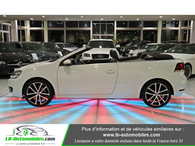 Volkswagen Golf Cabriolet 1.4 TSI 160 DSG Blanc occasion à Beaupuy - photo n°7