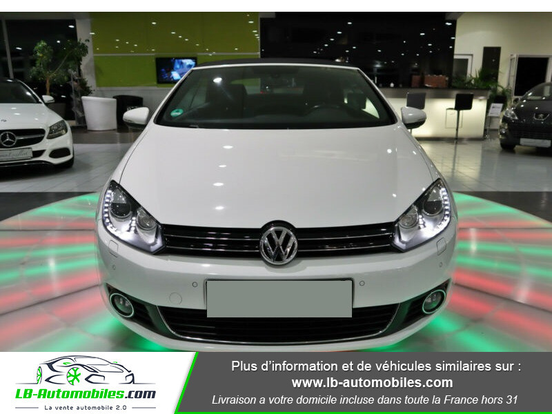 Volkswagen Golf Cabriolet 1.4 TSI 160 DSG Blanc occasion à Beaupuy - photo n°6