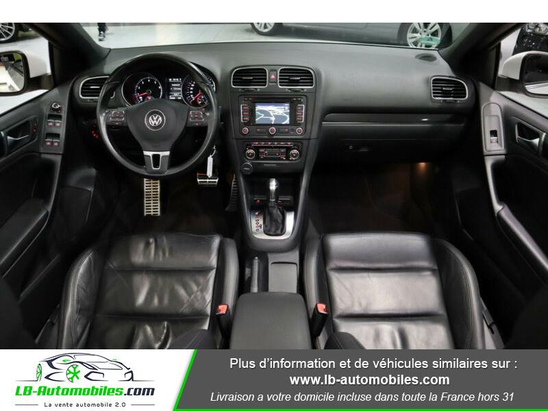 Volkswagen Golf Cabriolet 1.4 TSI 160 DSG Blanc occasion à Beaupuy - photo n°2
