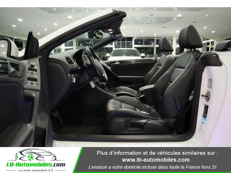 Volkswagen Golf Cabriolet 1.4 TSI 160 DSG Blanc occasion à Beaupuy - photo n°4