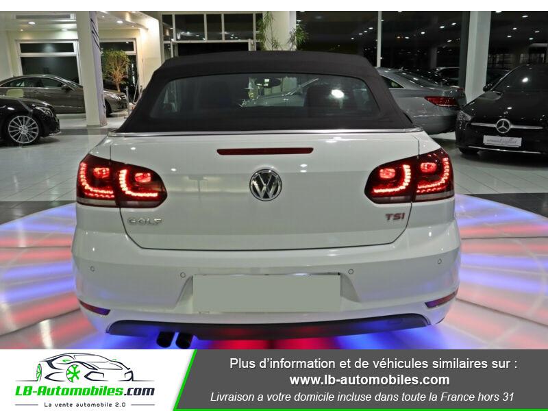 Volkswagen Golf Cabriolet 1.4 TSI 160 DSG Blanc occasion à Beaupuy - photo n°8