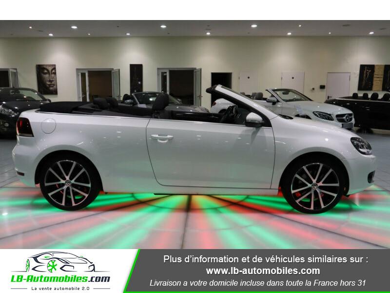 Volkswagen Golf Cabriolet 1.4 TSI 160 DSG Blanc occasion à Beaupuy - photo n°9