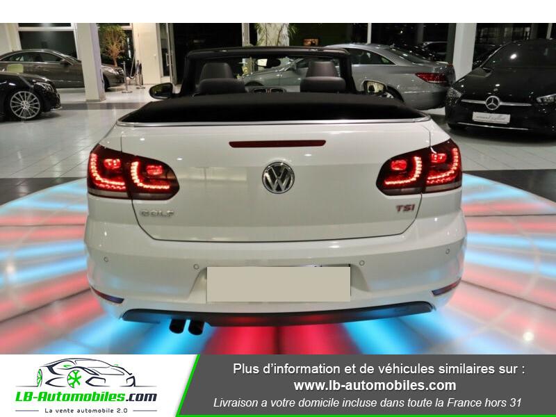 Volkswagen Golf Cabriolet 1.4 TSI 160 DSG Blanc occasion à Beaupuy - photo n°3