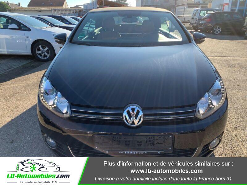 Volkswagen Golf Cabriolet 1.4 TSI 160 DSG Noir occasion à Beaupuy - photo n°6