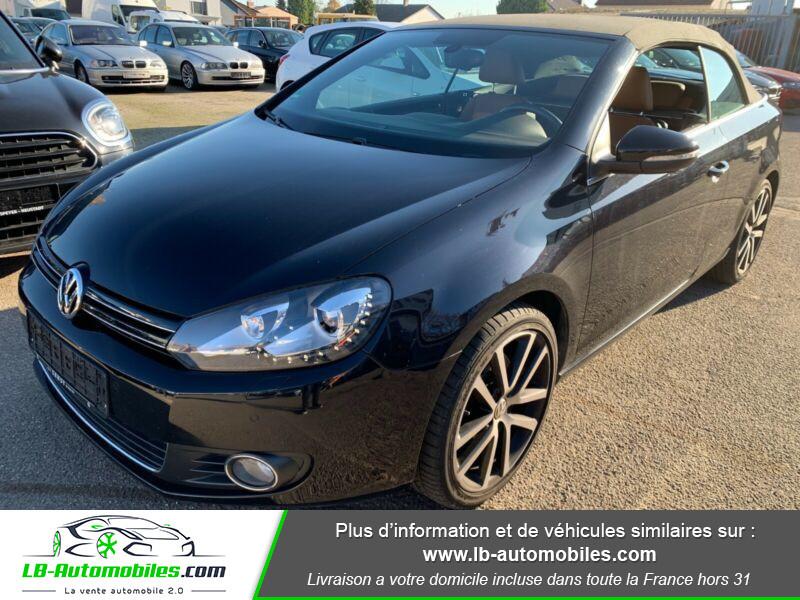 Volkswagen Golf Cabriolet 1.4 TSI 160 DSG Noir occasion à Beaupuy