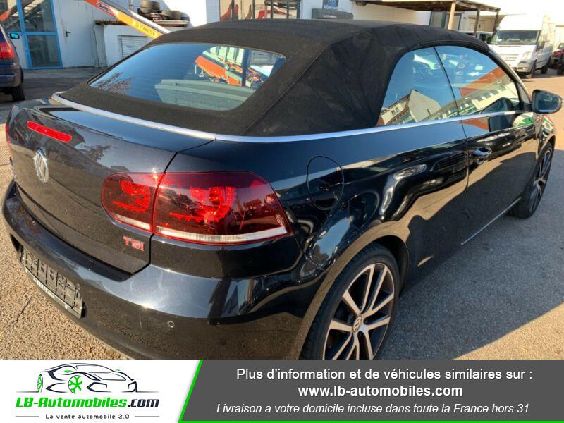 Volkswagen Golf Cabriolet 1.4 TSI 160 DSG Noir occasion à Beaupuy - photo n°3