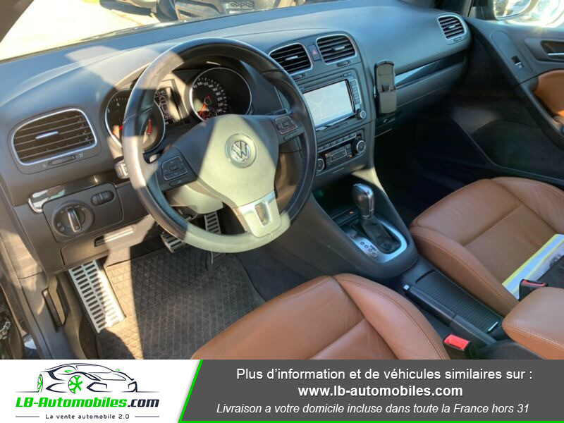 Volkswagen Golf Cabriolet 1.4 TSI 160 DSG Noir occasion à Beaupuy - photo n°2