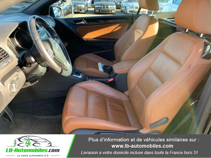 Volkswagen Golf Cabriolet 1.4 TSI 160 DSG Noir occasion à Beaupuy - photo n°4