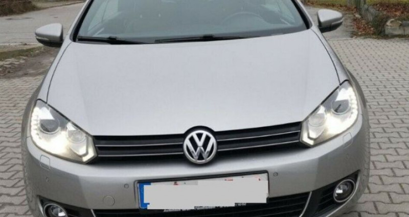 Volkswagen Golf Cabriolet VI CABRIOLET 1.4 TSI 122 Edition Gris occasion à Saint Patrice - photo n°6