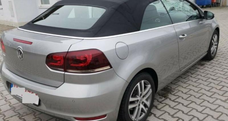 Volkswagen Golf Cabriolet VI CABRIOLET 1.4 TSI 122 Edition Gris occasion à Saint Patrice - photo n°2