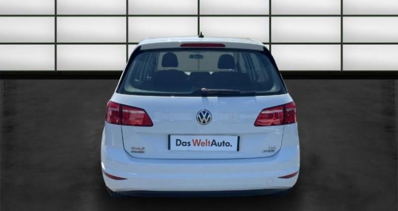 Volkswagen Golf Sportsvan 1.2 TSI 85ch BlueMotion Technology Trendline Blanc occasion à La Rochelle - photo n°4