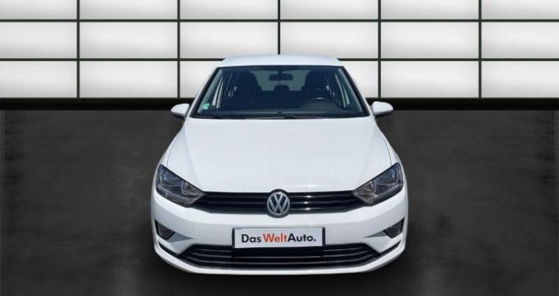 Volkswagen Golf Sportsvan 1.2 TSI 85ch BlueMotion Technology Trendline Blanc occasion à La Rochelle - photo n°2