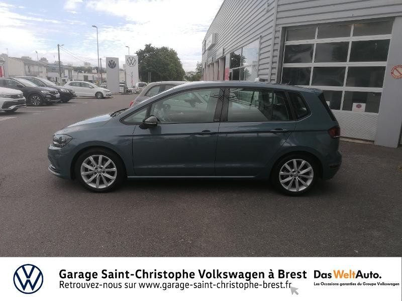 Volkswagen Golf Sportsvan 1.5 TSI EVO 150ch BlueMotion Technology IQ.Drive DSG7 Euro6d Bleu occasion à Brest - photo n°2