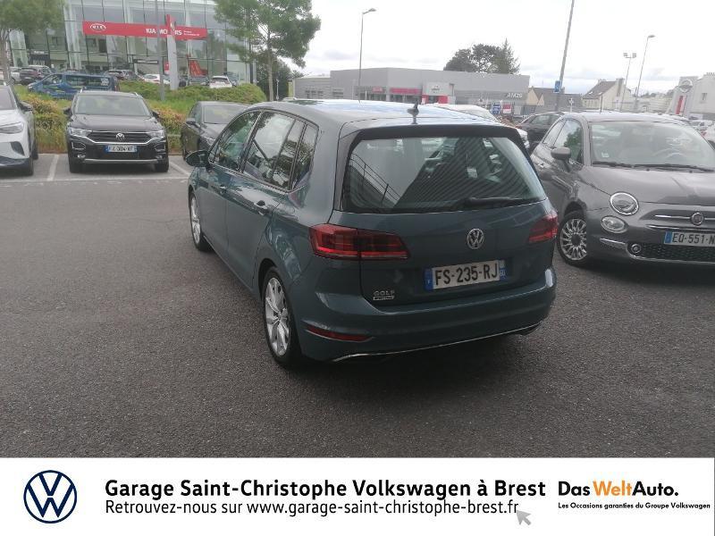 Volkswagen Golf Sportsvan 1.5 TSI EVO 150ch BlueMotion Technology IQ.Drive DSG7 Euro6d Bleu occasion à Brest - photo n°3