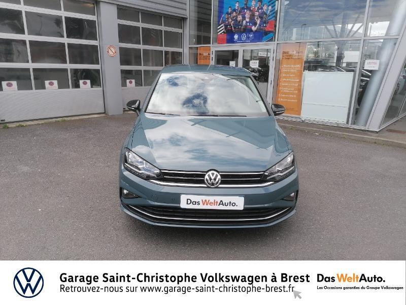 Volkswagen Golf Sportsvan 1.5 TSI EVO 150ch BlueMotion Technology IQ.Drive DSG7 Euro6d Bleu occasion à Brest - photo n°5
