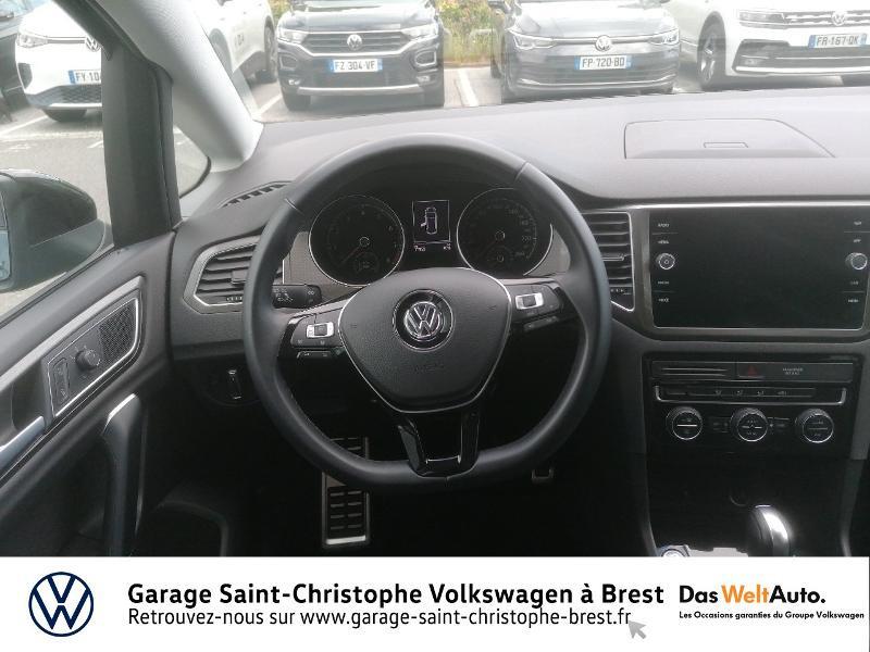 Volkswagen Golf Sportsvan 1.5 TSI EVO 150ch BlueMotion Technology IQ.Drive DSG7 Euro6d Bleu occasion à Brest - photo n°7