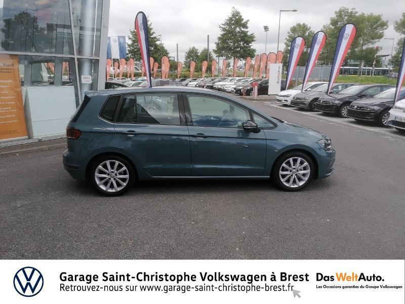 Volkswagen Golf Sportsvan 1.5 TSI EVO 150ch BlueMotion Technology IQ.Drive DSG7 Euro6d Bleu occasion à Brest - photo n°4