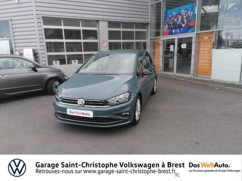 Volkswagen Golf Sportsvan 1.5 TSI EVO 150ch BlueMotion Technology IQ.Drive DSG7 Euro6d Bleu occasion à Brest - photo n°18