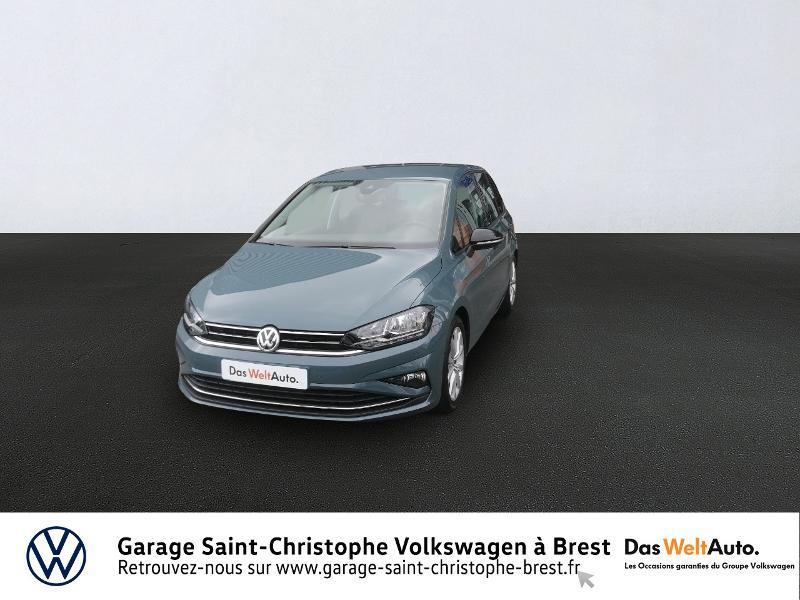 Volkswagen Golf Sportsvan 1.5 TSI EVO 150ch BlueMotion Technology IQ.Drive DSG7 Euro6d Bleu occasion à Brest