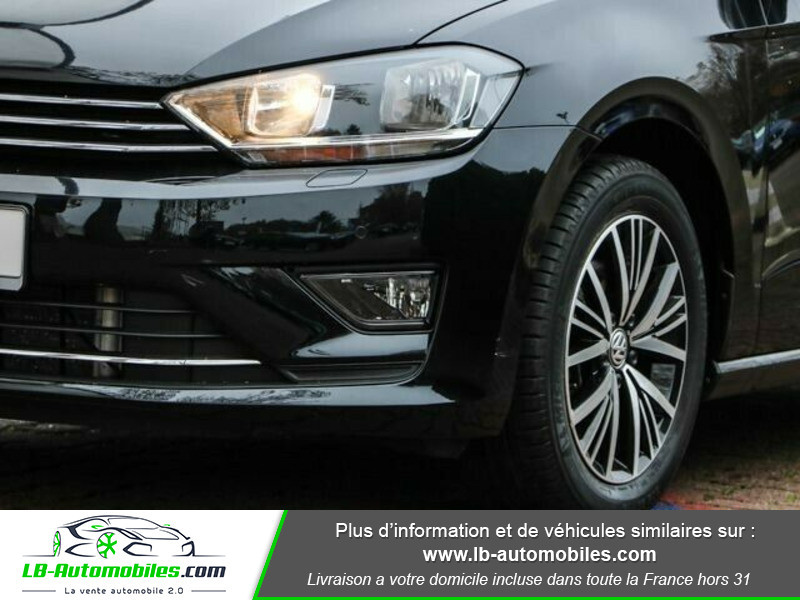 Volkswagen Golf Sportsvan 1.6 TDI 110 Noir occasion à Beaupuy - photo n°11