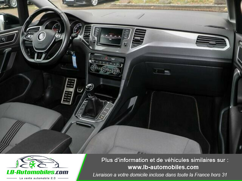 Volkswagen Golf Sportsvan 1.6 TDI 110 Noir occasion à Beaupuy - photo n°2