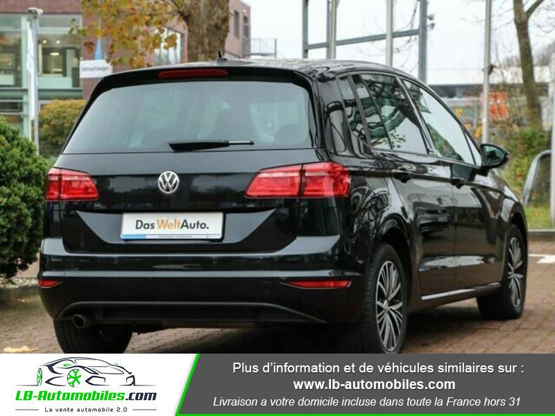 Volkswagen Golf Sportsvan 1.6 TDI 110 Noir occasion à Beaupuy - photo n°3
