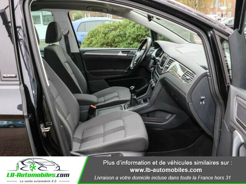 Volkswagen Golf Sportsvan 1.6 TDI 110 Noir occasion à Beaupuy - photo n°4