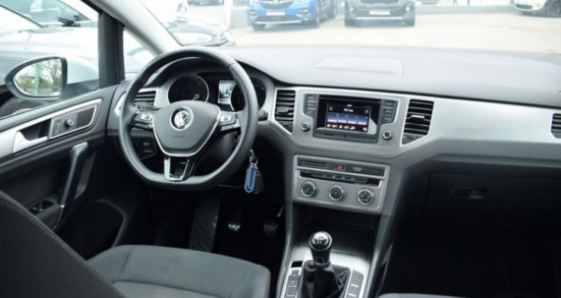 Volkswagen Golf Sportsvan 1.6 TDI 110CH BLUEMOTION TECHNOLOGY FAP CONFORTLINE Blanc occasion à VENDARGUES - photo n°2