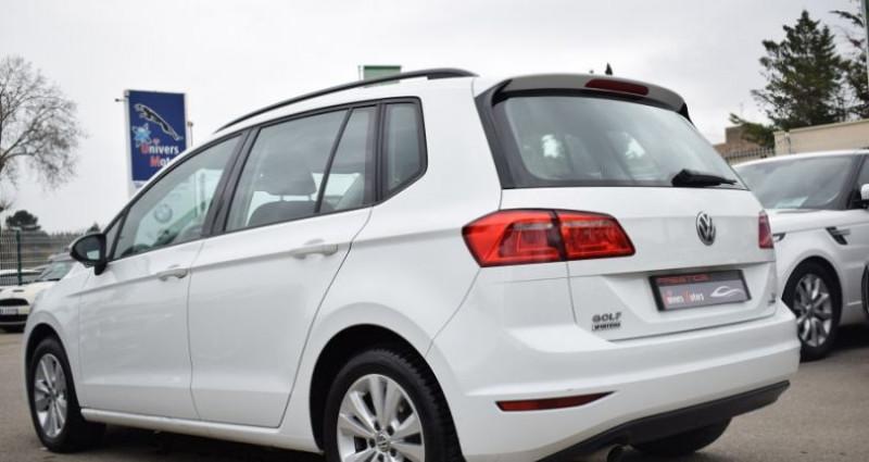 Volkswagen Golf Sportsvan 1.6 TDI 110CH BLUEMOTION TECHNOLOGY FAP CONFORTLINE Blanc occasion à VENDARGUES - photo n°3