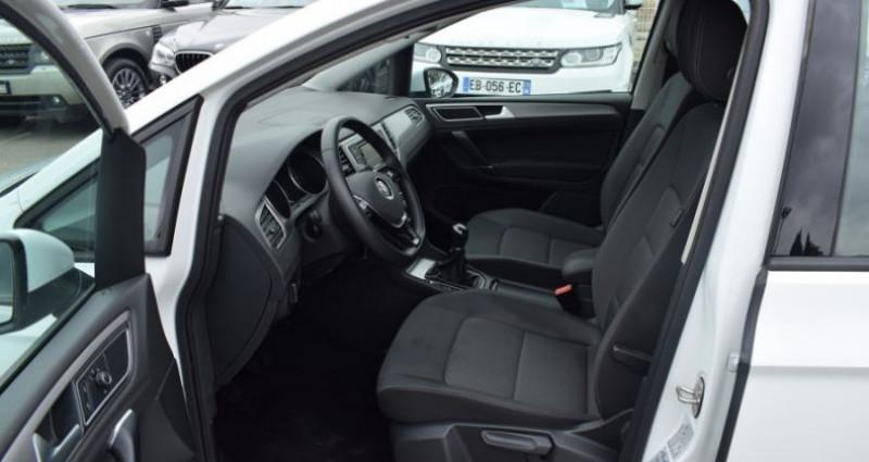 Volkswagen Golf Sportsvan 1.6 TDI 110CH BLUEMOTION TECHNOLOGY FAP CONFORTLINE Blanc occasion à VENDARGUES - photo n°4