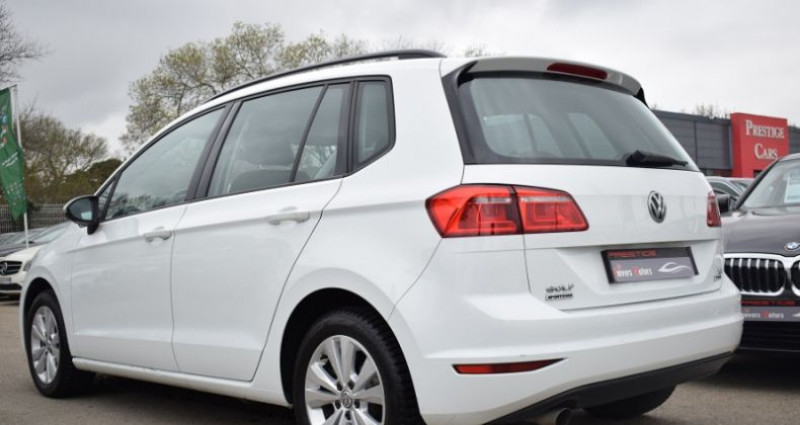 Volkswagen Golf Sportsvan 1.6 TDI 110CH BLUEMOTION TECHNOLOGY FAP CONFORTLINE Blanc occasion à VENDARGUES - photo n°5
