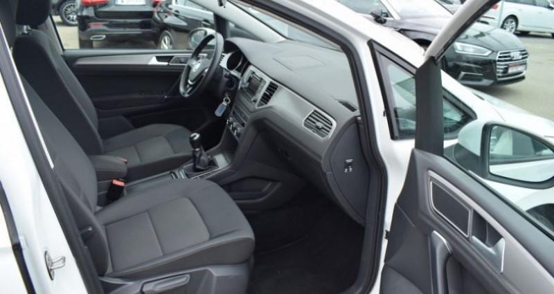Volkswagen Golf Sportsvan 1.6 TDI 110CH BLUEMOTION TECHNOLOGY FAP CONFORTLINE Blanc occasion à VENDARGUES - photo n°6