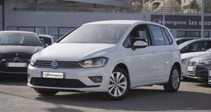 Volkswagen Golf Sportsvan 1.6 TDI 115 BLUEMOTION TECHNOLOGY CONFORTLINE Blanc occasion à Chambourcy